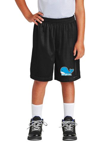 Sport-Tek® Youth PosiCharge® Classic Mesh Short.-Sport-Tek