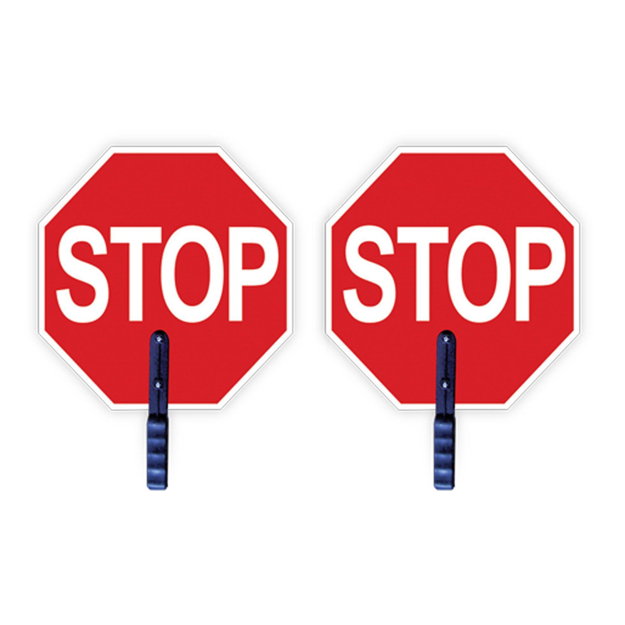Engineering Grade Traffic Safety Paddle - Stop/Stop-2W International