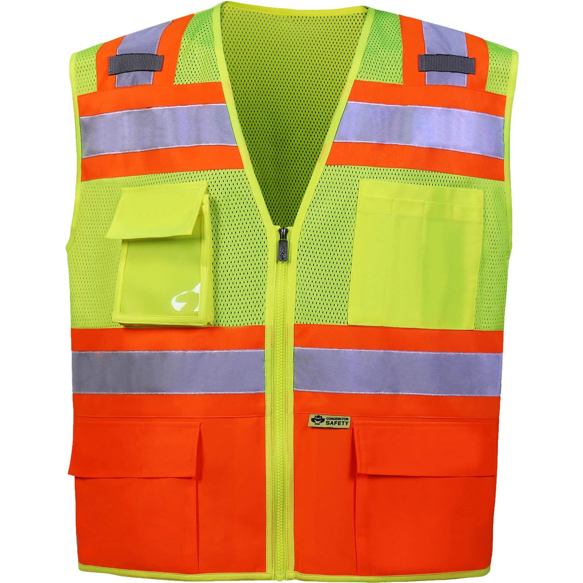Contrast Two-Tone Vest-