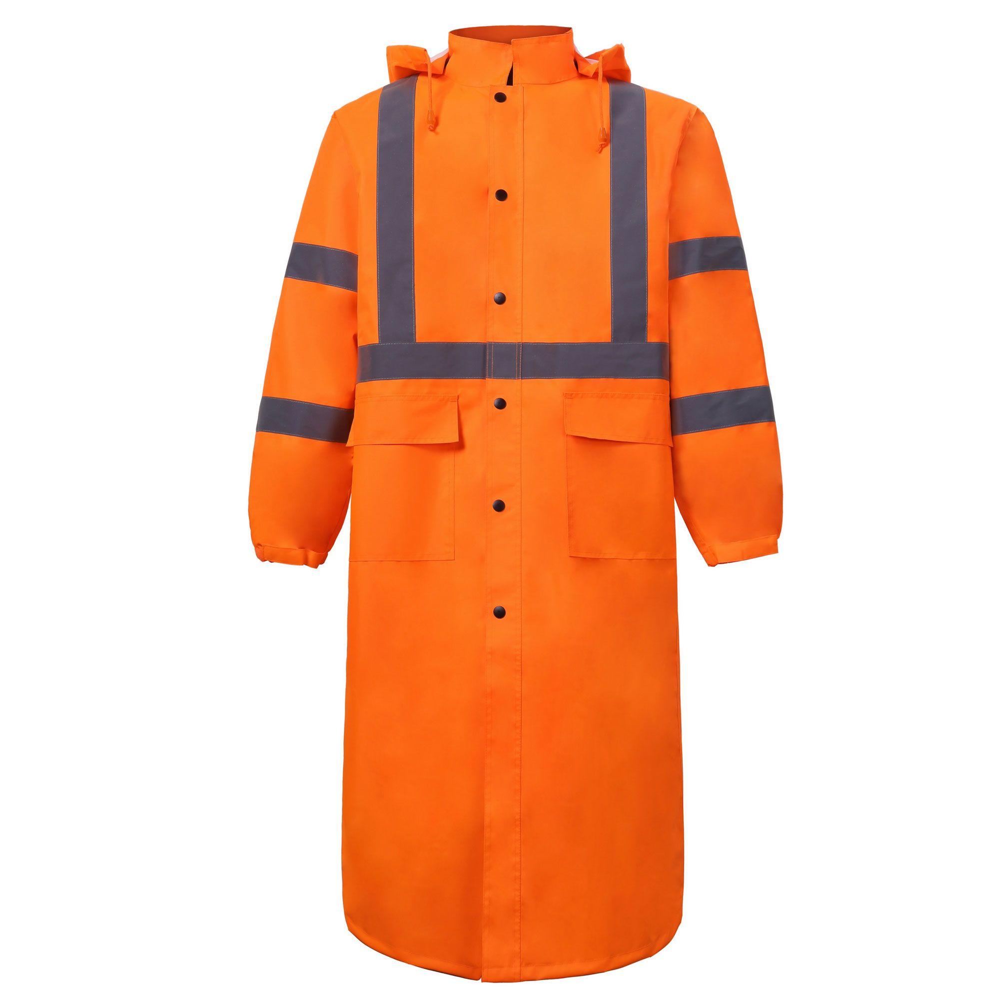 High Viz Rain Coat-
