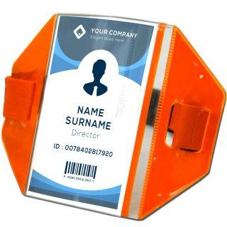 Armband ID Badge Holder-