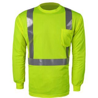 High Viz Long Sleeve Birdseye T-Shirt-