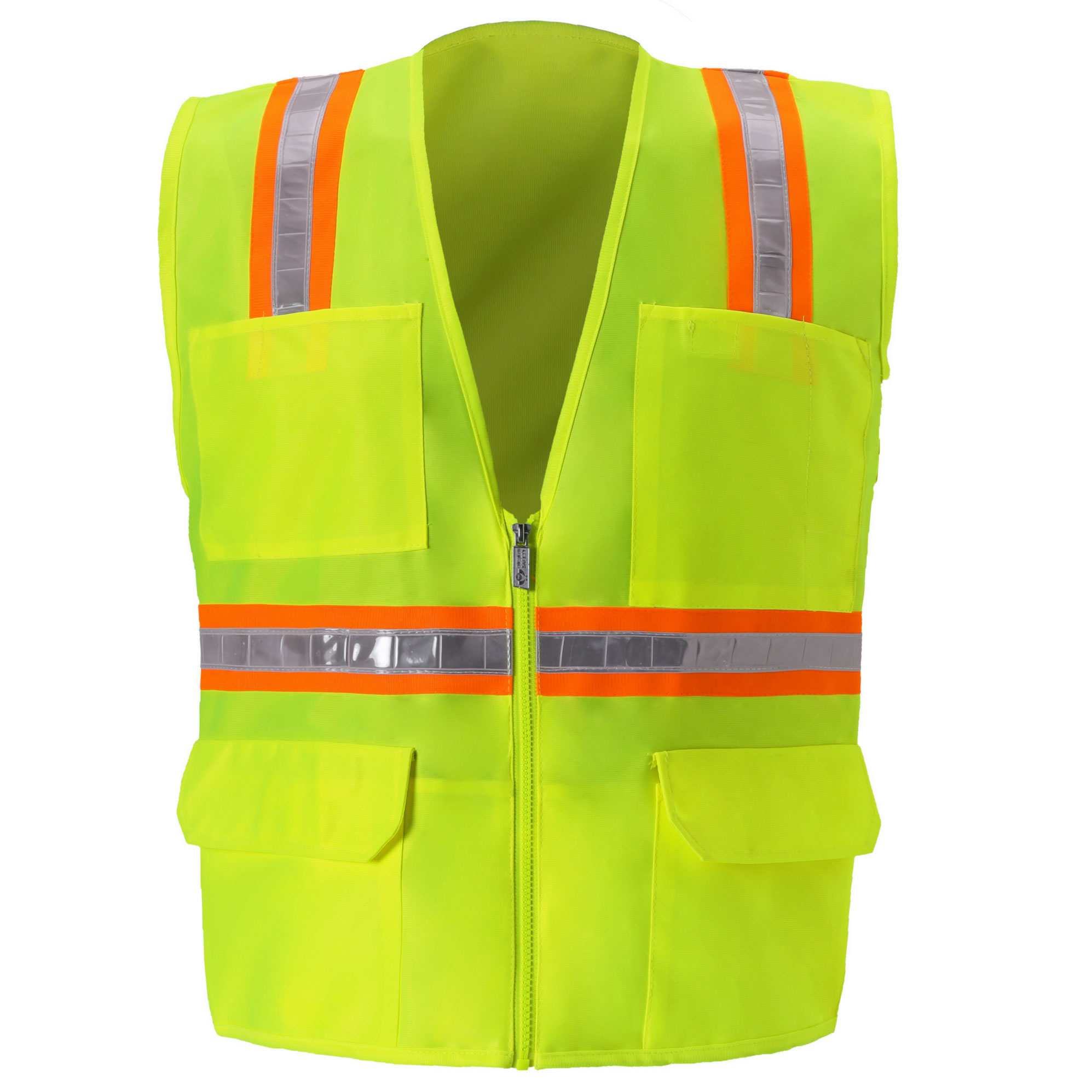 Multi-Pocket Safety Vest-