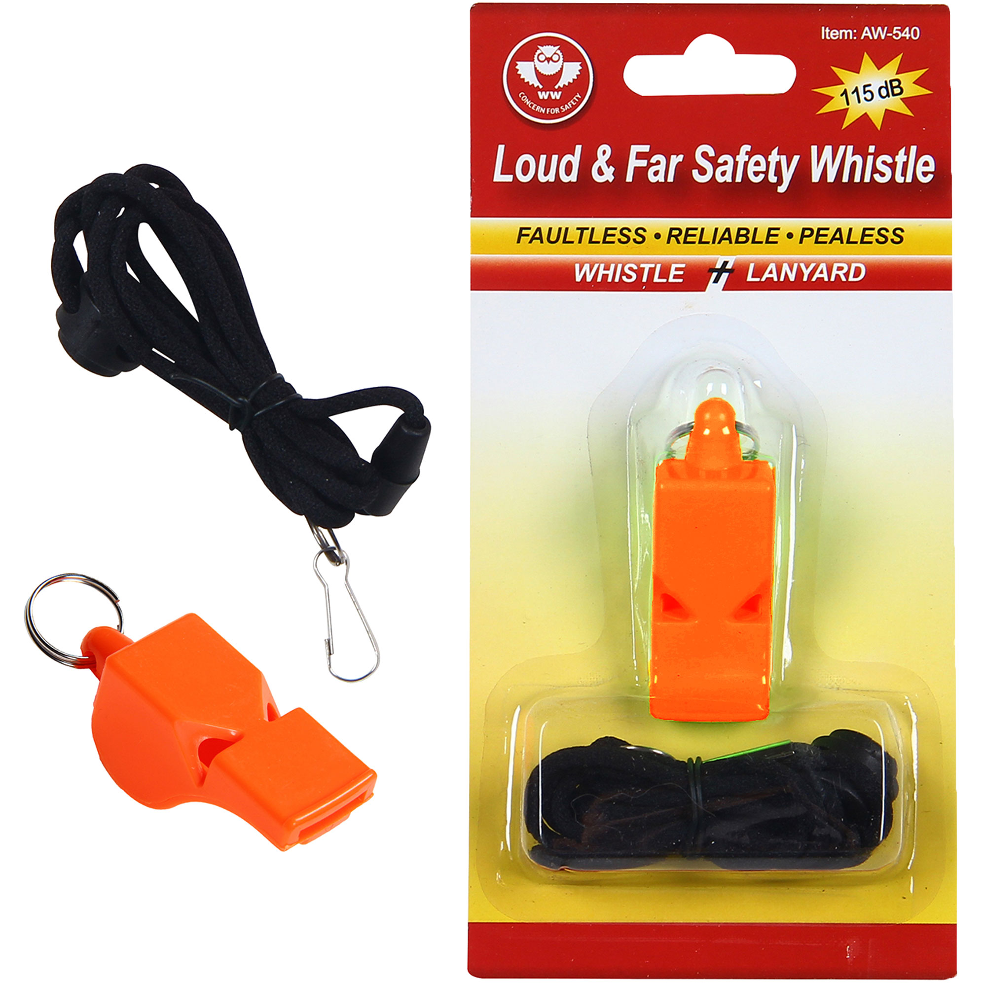 Loud & Far Safety Whistle-