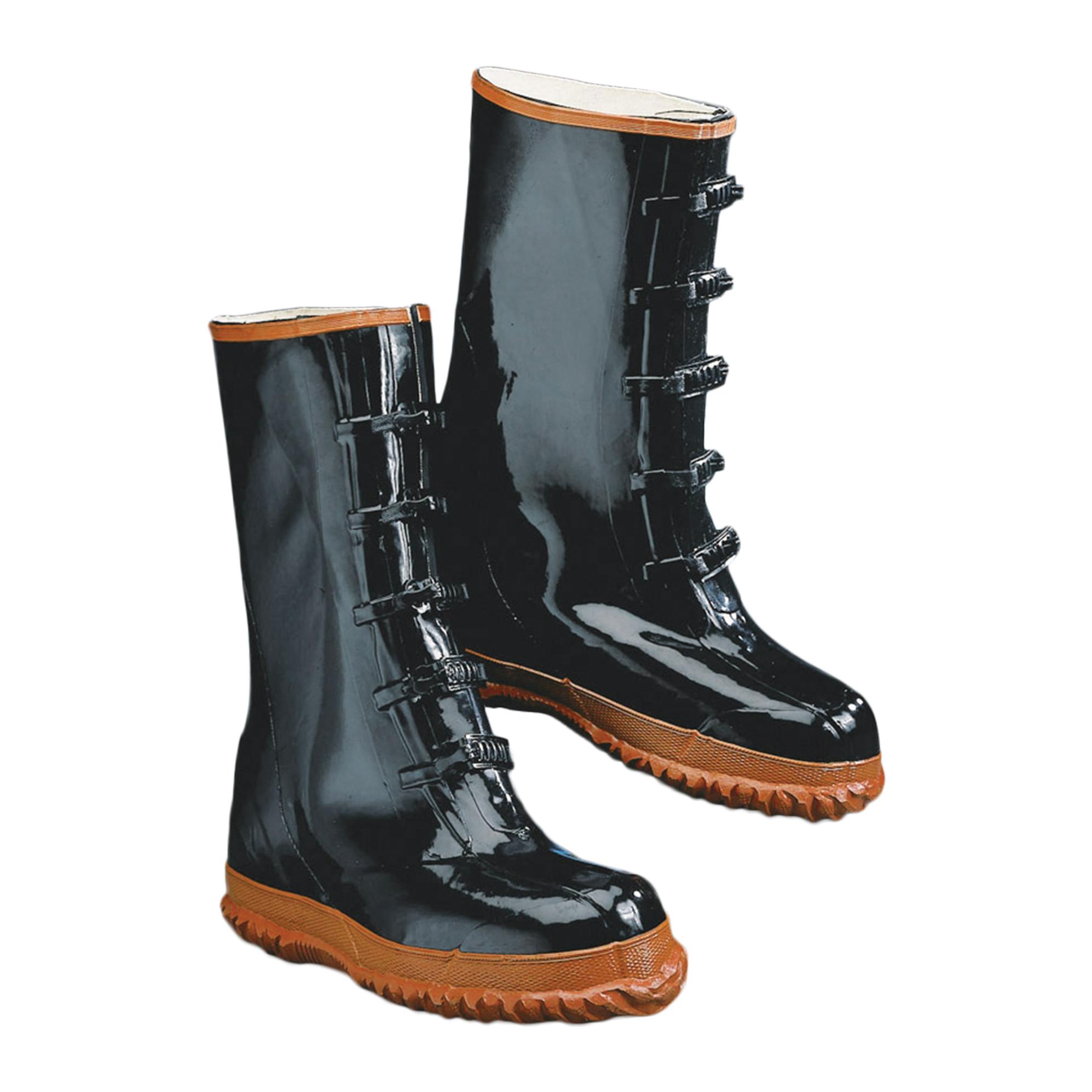 Five-Buckle Artic Rubber Boots-2W International