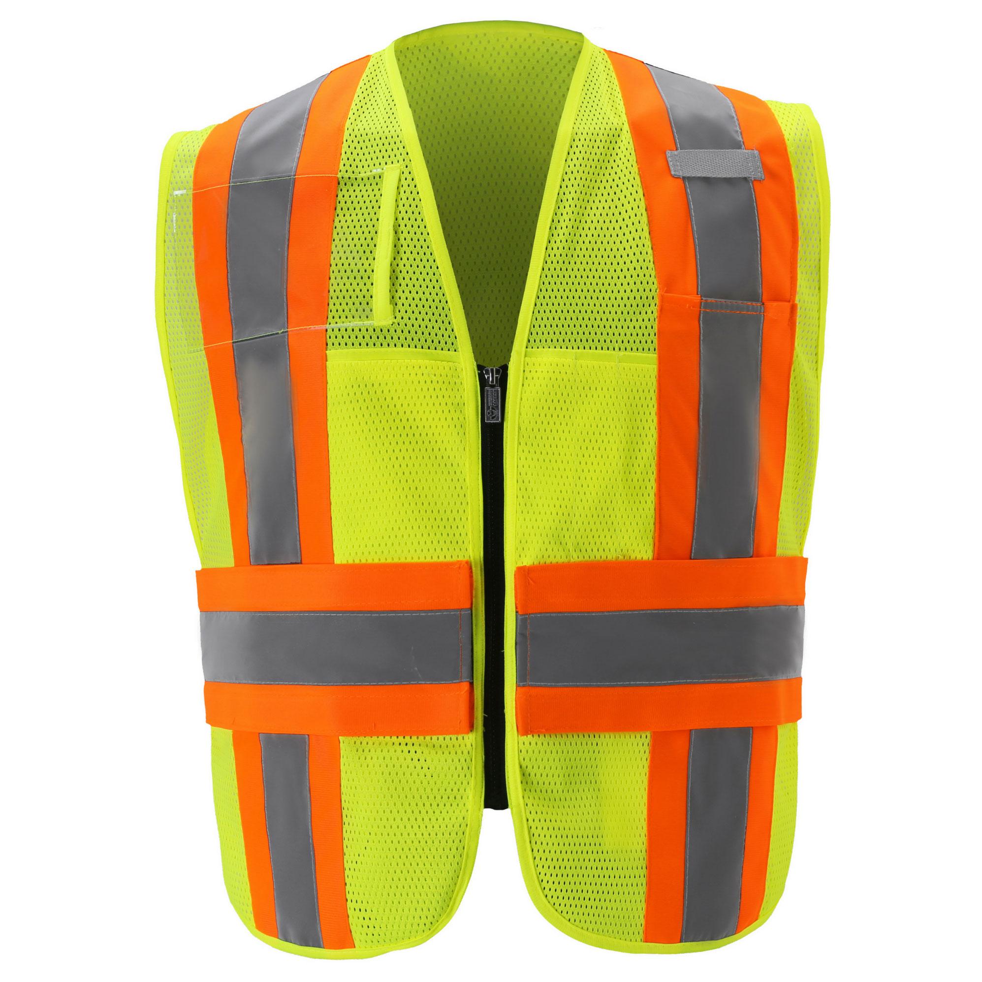 Mesh Contrast Incident Command Vest-
