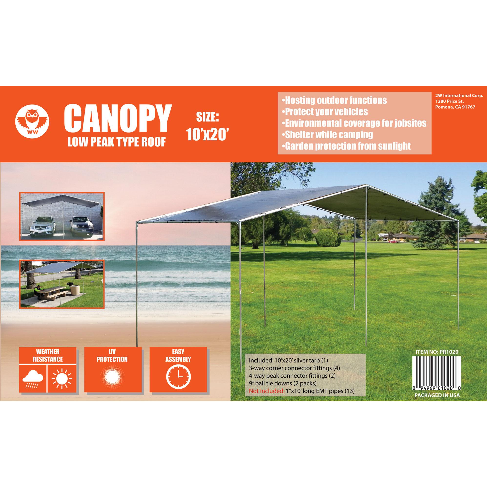 Peak Roof Type Canopy-