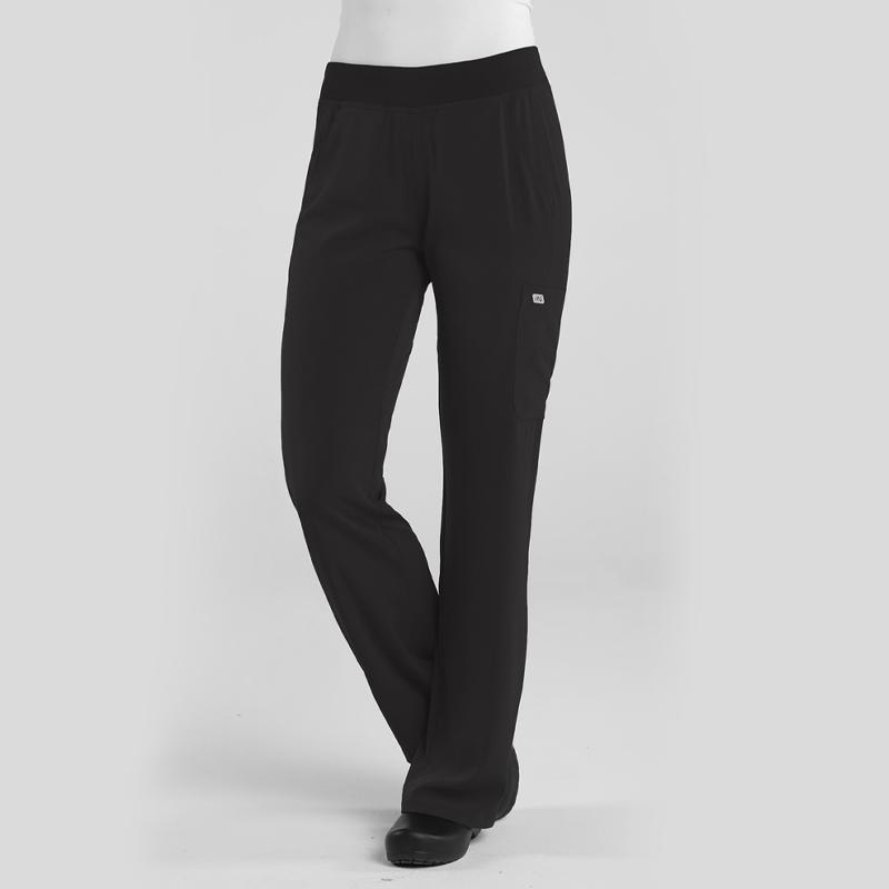 Ladies Yoga Waist Pant-IRG Elevate