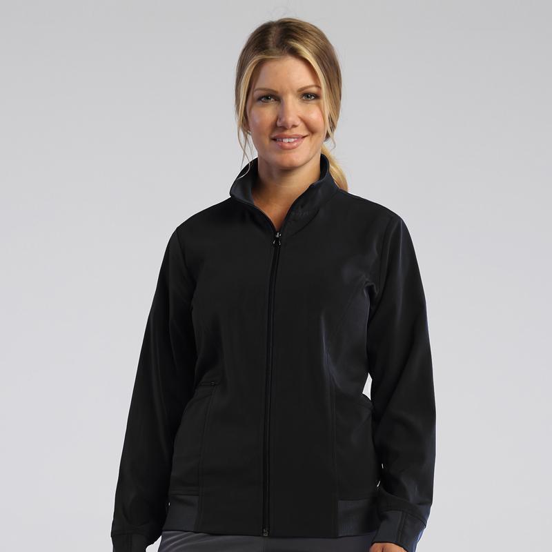 Ladies Zip Front Warm-Up Jacket