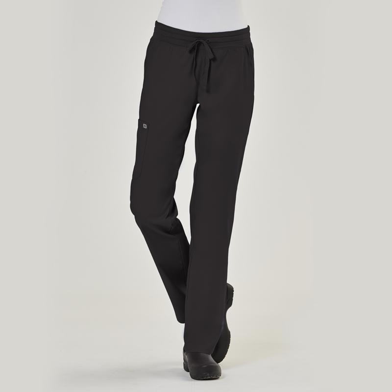 IRG Edge 6802 Ladies Semi-Tapered Pant with Yoga Style Waistband-IRG Edge