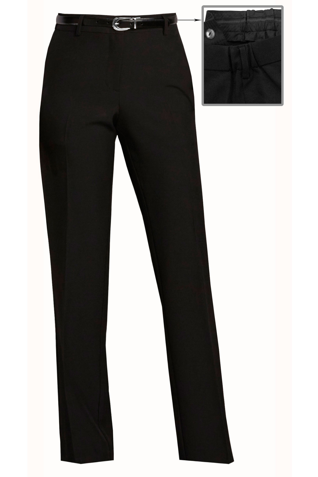 Womens Hospitality Pants, No Pockets-