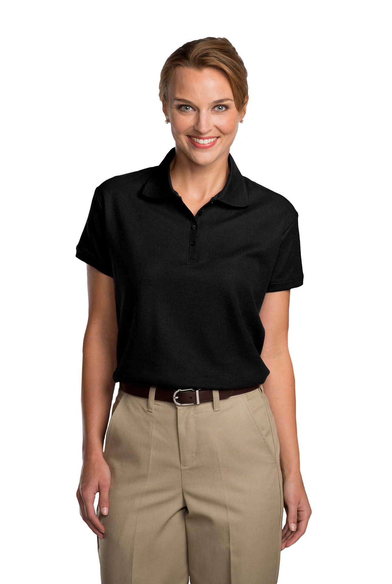 Womens Pique Polo Shirt-