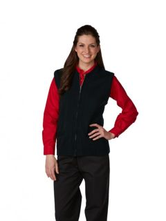 Unisex Heavyweight Zip-Front Crewneck Transit Cardigan Vest-A Plus