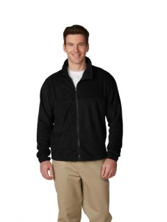 Unisex Zip-Front Fabri-Tech Fleece Jacket-A Plus