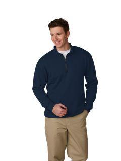 Unisex Quarter-Zip Fleece Sweatshirt