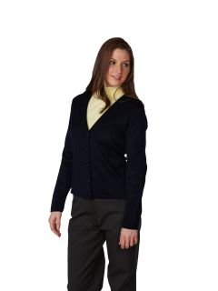 Women's Fine-Gauge V-Neck Cardigan