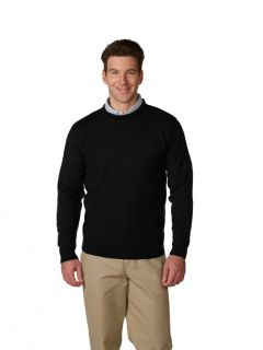 Unisex Crewneck Pullover Jersey Knit Sweater-A Plus