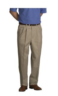 Men's Comfort Plus Pleated Pants