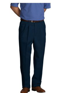 Mens Comfort Plus Pleated Pants-A Plus