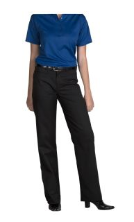 Juniors Mid-Rise Plain Pants