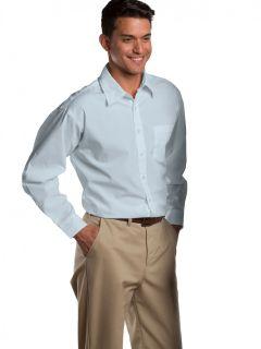 Men's Long-Sleeve Broadcloth Shirt