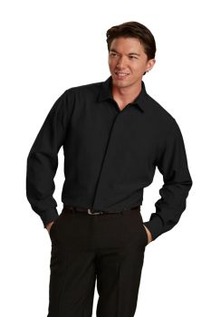 Mens Hospitality Shirt, Pointed Collar-A Plus
