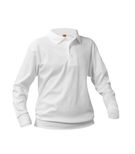 Unisex Interlock Knit Polo Overshirt, Short Sleeves-A Plus