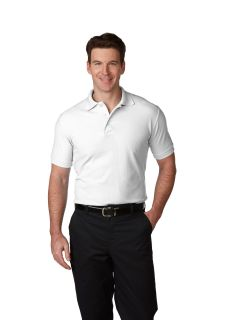 Mens/Unisex Pique Polo Shirt Short Sleeves, Ribbed Cuffs