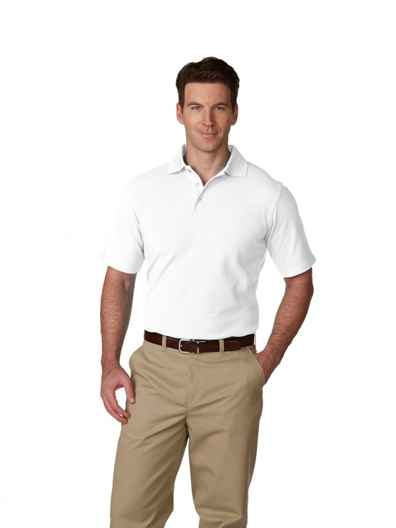 Mens/Unisex Pique Polo Shirt, Short Sleeves, Hemmed-