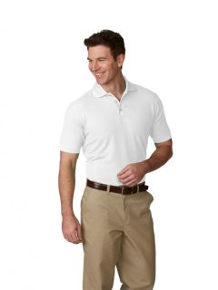 Mens/Unisex Pique Polo Shirt, Short Sleeves, Ribbed Cuffs-A Plus