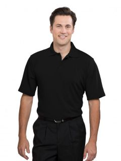 Mens Moisture-Management Polo Shirt (100% polyester)-A Plus