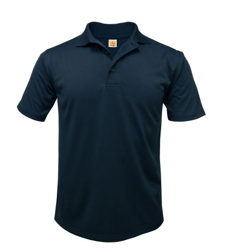 Mens Moisture-Management Jersey Polo Shirt-A Plus
