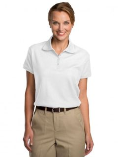 Womens Pique Polo Shirt-A Plus