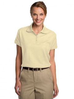 Womens Pique Polo Shirt-A Plus