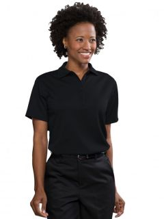 Womens Moisture-Management Polo Shirt (100% polyester)-A Plus