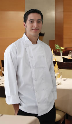 Lorenzo Executive Chef Coat