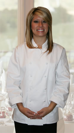 Annabella Executive Women's Chef Coat