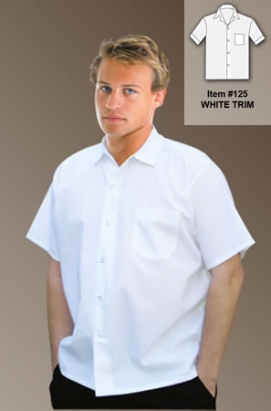 Cook Shirt with Chest Pocket