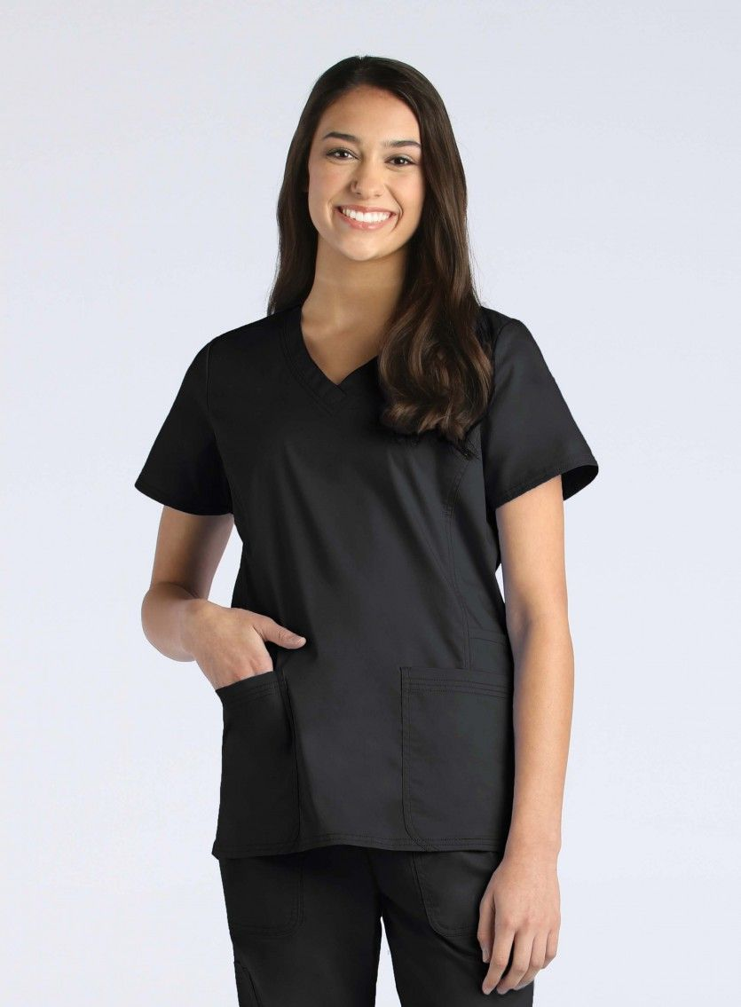 Ladies Functional V-Neck Top-Maevn
