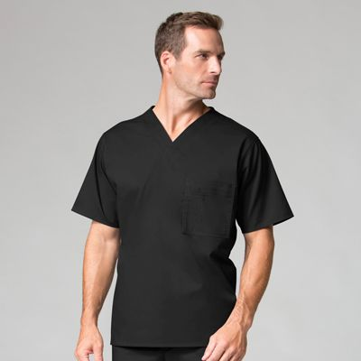 Men Utility V-neck Top-