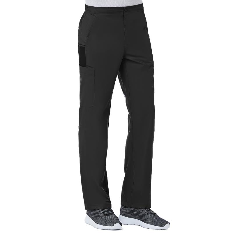 Men Half Elastic 8-Pocket Cargo Pant-