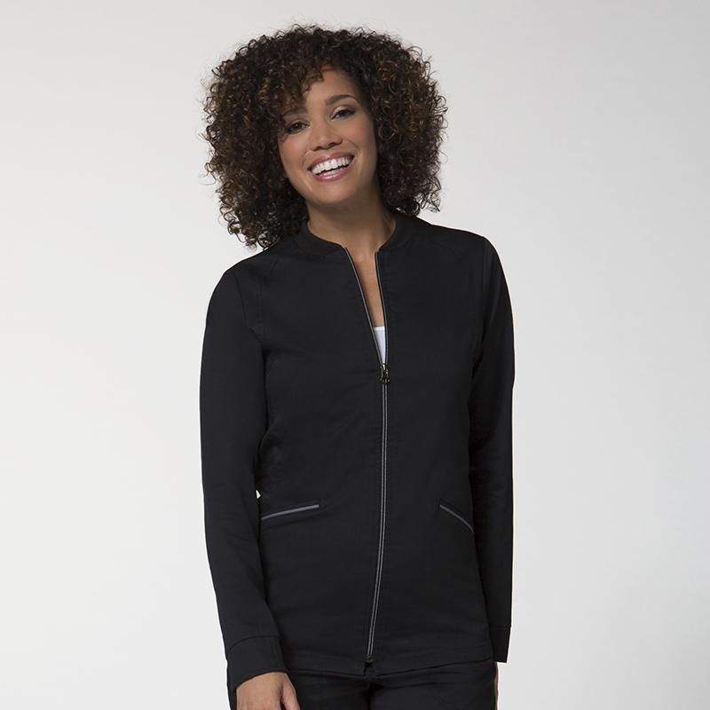 Zip Front Warm-Up Jacket-