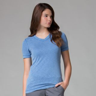 Ladies Short Sleeve Modal Tee-Maevn