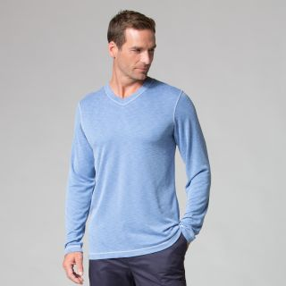 Men's Long Sleeve Modal Tee-Maevn