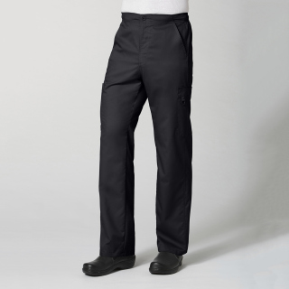 Men's Half Elastic 8 Pocket Cargo Pant