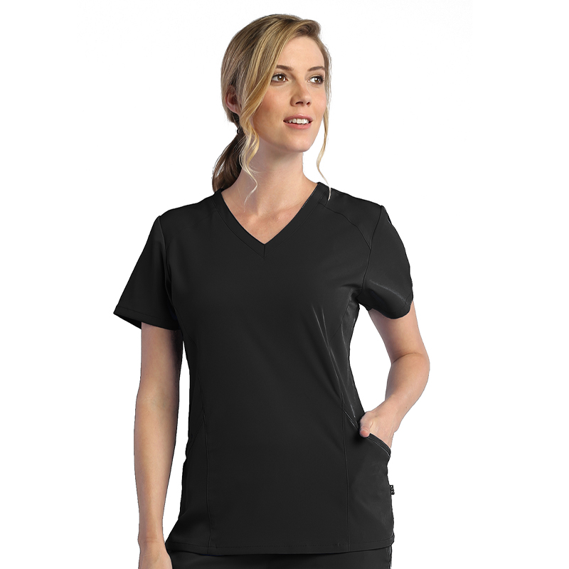 Ladies Modern V-Neck Top-