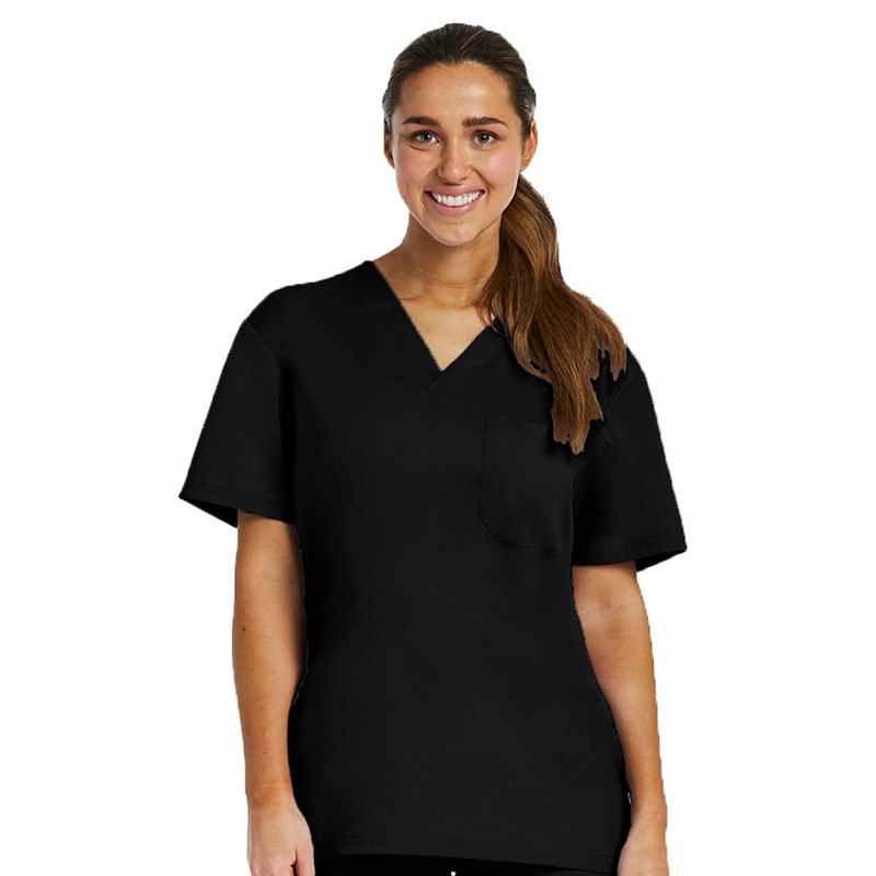 Unisex Basic V-Neck Top-