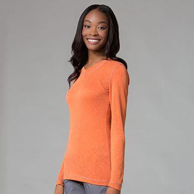 Maevn Modal knit Ladies Long Sleeve Modal Tee-Maevn