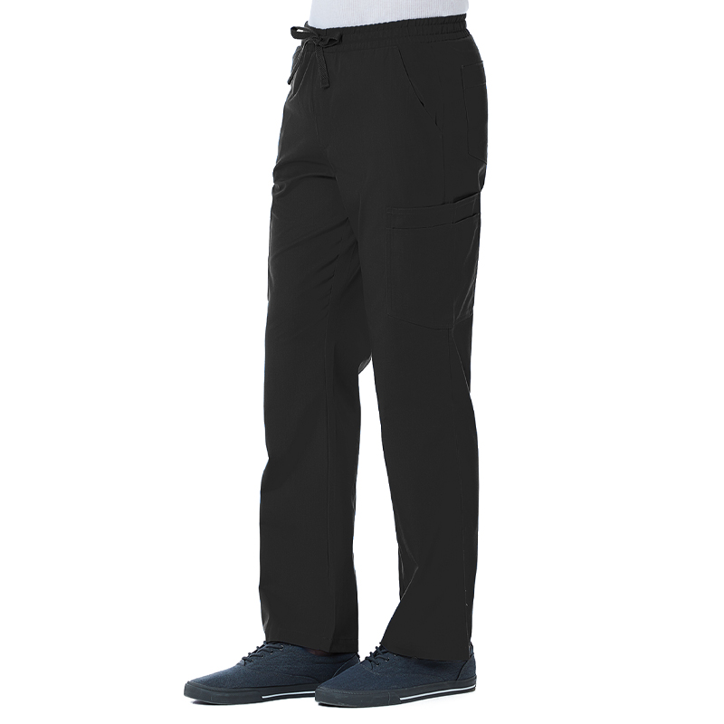 Men Full Elastic 10-Pocket Cargo Pant-