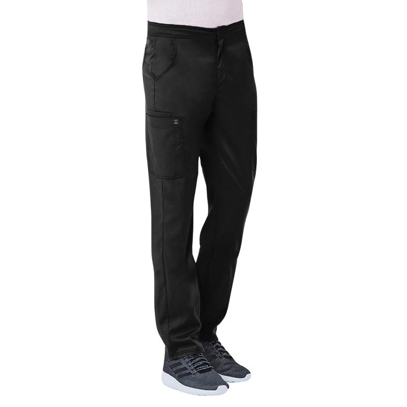 Men's Half Elastic Waistband Cargo Pant-